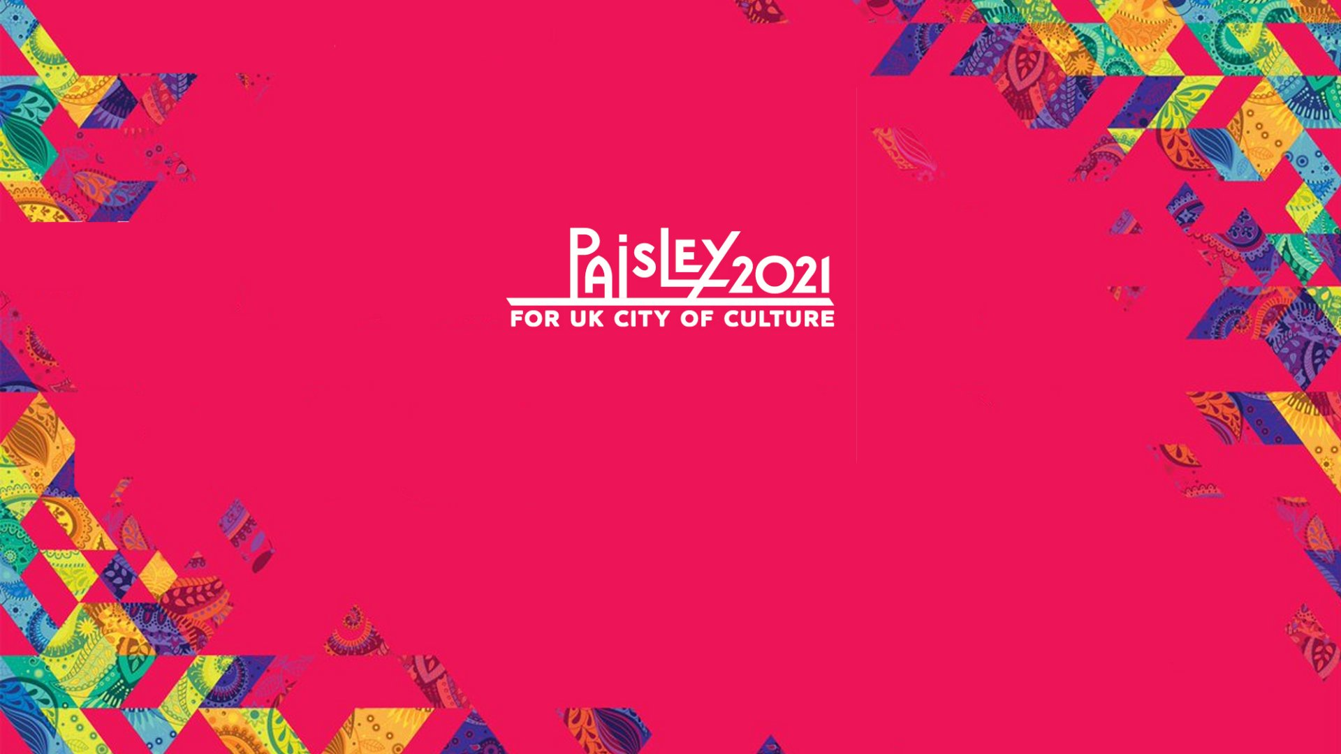We Back The Bid for Paisley 2021